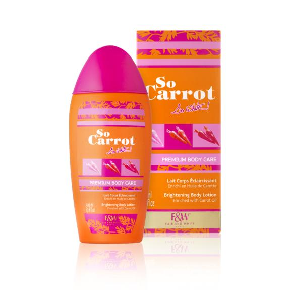 Premium Body Care - Lait Corps Eclaircissant | So Carrot !