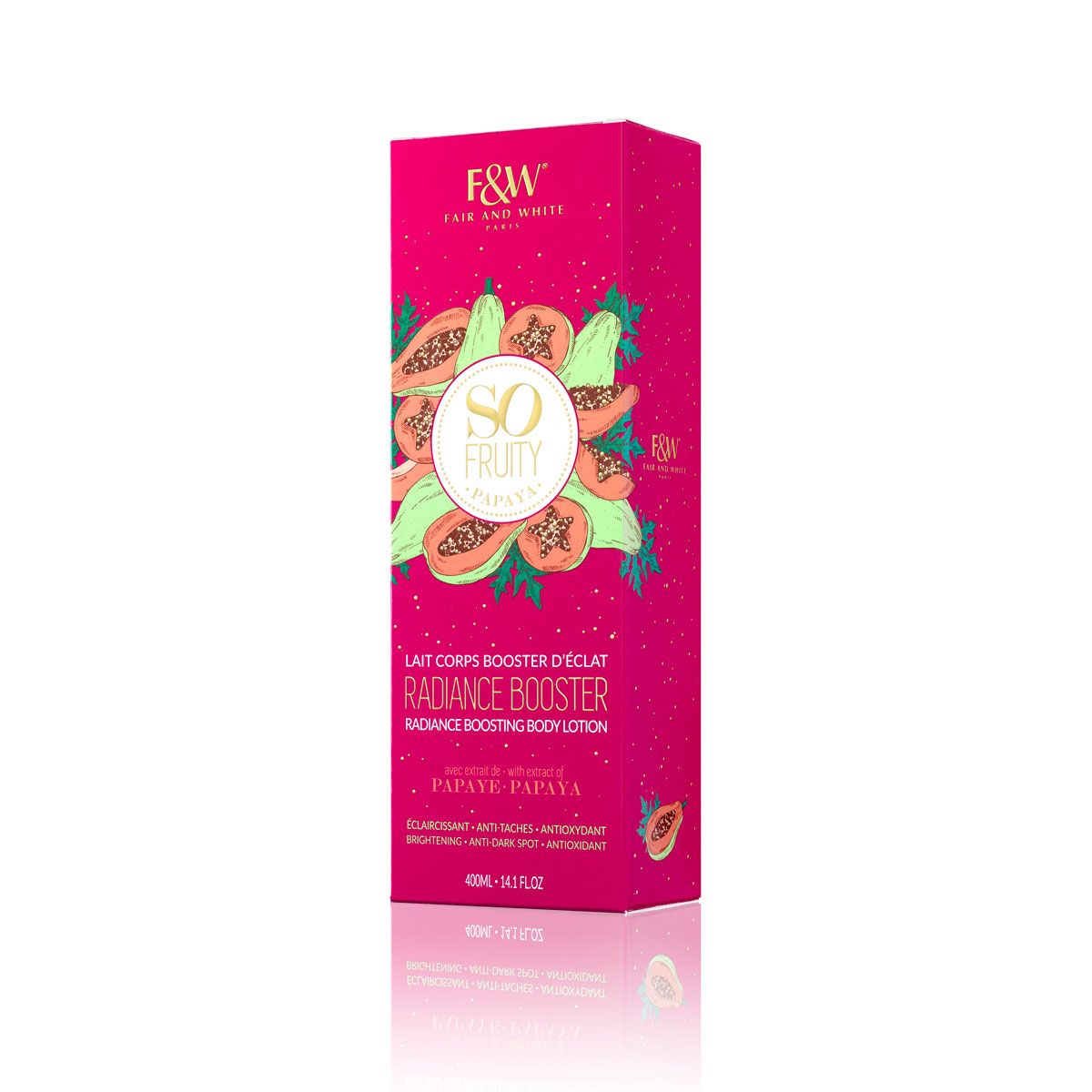 Lait Corps Booster d'Eclat | So Fruity Papaya